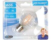 """Ampoule LED Filament E27 """"Sphère 4W"""" 8cm Dépoli - Paris Prix"""