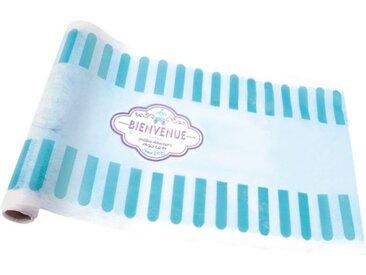 """Chemin de Table Jetable """"Funfair"""" 28cmx5m Bleu - Paris Prix"""