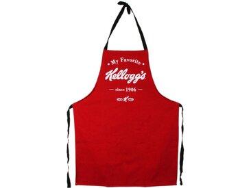 """Tablier de Cuisine Déco """"Kellogg's"""" 131cm Rouge - Paris Prix"""