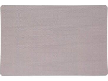 """Set de Table """"Relief Natural"""" 43x28cm Gris Clair - Paris Prix"""