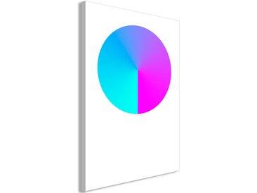 """Tableau Imprimé """"Neon Gradient"""" - Paris Prix"""