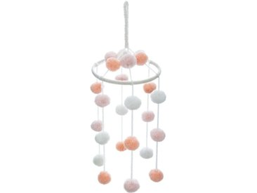 "Suspension Enfant ""Pompons"" 50cm Multicolore - Paris Prix"