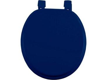 """Abattant WC Uni """"Vitamine II"""" 37cm Bleu Indigo - Paris Prix"""