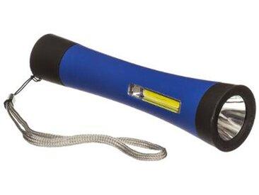 "Lampe Torche LED ""COB"" 15cm Bleu - Paris Prix"