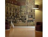 """Papier Peint """"Parisian Fountain"""" - Paris Prix"""