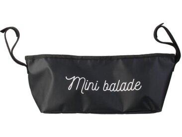"""Sac pour Poussette """"Mini Balade"""" 32cm Noir - Paris Prix"""