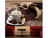 "Papier Peint ""Star Anise Coffee II"" 270x450cm - Paris Prix"