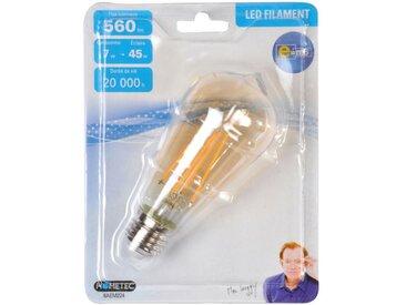 """Ampoule LED Filament """"Ogive"""" 13cm Ambre - Paris Prix"""