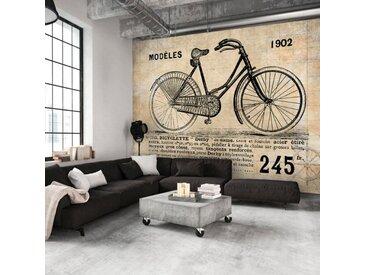 """Papier Peint """"Vélo Ancien"""" - Paris Prix"""