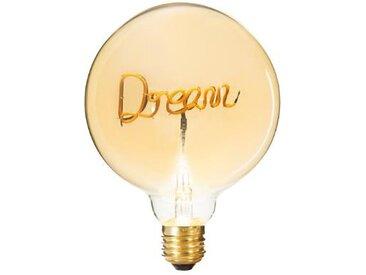 """Ampoule Décorative à Filament """"Dream"""" 17cm Ambre - Paris Prix"""