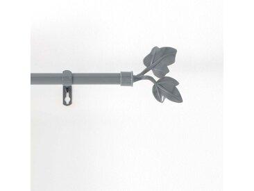"""Kit Tringle Déco Extensible """"Lierre"""" 120-210cm Gris - Paris Prix"""