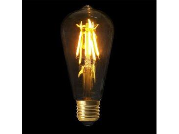 """Ampoule ST64 Filaments LED """"Droit"""" 2W Transparent - Paris Prix"""