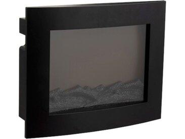"""Décoration Lumineuse LED """"Cheminée"""" 50cm Noir - Paris Prix"""