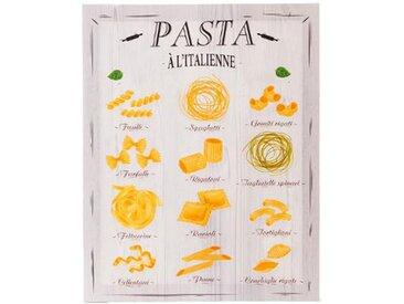 """Toile Imprimée """"Kitchen Pasta"""" 38x48cm - Paris Prix"""