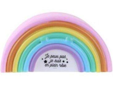 """Veilleuse Enfant à Poser """"Arc En Ciel"""" 14cm Multicolore - Paris Prix"""
