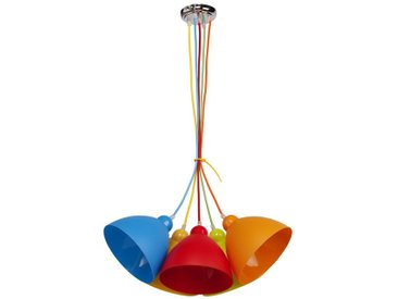 "Lampe Suspension Enfant ""Loon"" Multicolore - Paris Prix"