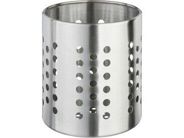 """Pot Range Couverts """"Inox"""" 13cm Argent - Paris Prix"""