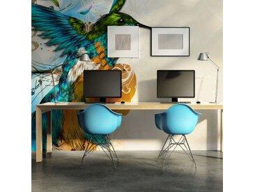 "Papier Peint ""Marvelous Bird II"" 450x270cm - Paris Prix"