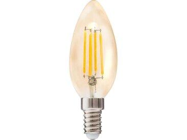 """Ampoule à Led """"Ovale"""" 9cm Ambre - Paris Prix"""