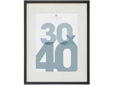 """Cadre Photo en Verre """"Manu"""" 30x40cm Noir - Paris Prix"""