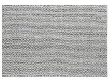 """Set de Table """"Géométrique"""" 30x45cm Gris - Paris Prix"""