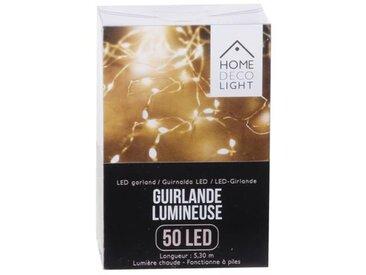 """Guirlande Lumineuse Led """"50 Led"""" Blanc - Paris Prix"""