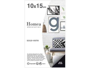 "Cadre Sous Verre ""Ilua"" 10x15cm Transparent - Paris Prix"