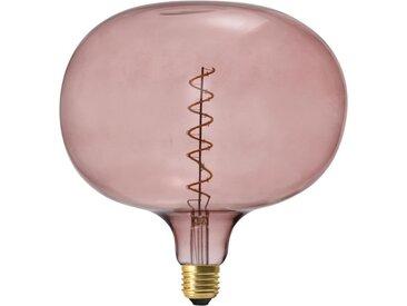 """Ampoule Filaments LED """"Bulle"""" 6W Rose - Paris Prix"""