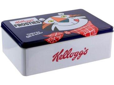 "Boîte à Sucre Métal ""Kellogg's Frosties"" 20cm Bleu - Paris Prix"