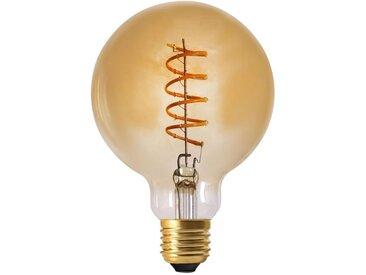 """Ampoule G95 Filaments LED """"Spiral"""" 2W Ambre - Paris Prix"""