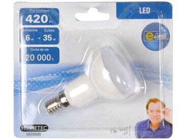 """Ampoule LED """"Réflecteur 6W"""" 8cm Blanc - Paris Prix"""