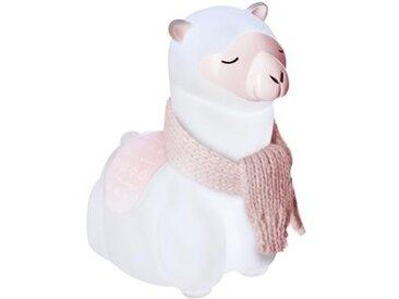 """Veilleuse Enfant à Poser """"Lama"""" 17cm Rose - Paris Prix"""