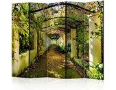 """Paravent 5 Volets """"Romantic Garden"""" 172x225cm - Paris Prix"""