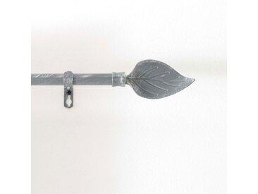 """Kit Tringle Déco Extensible """"Feuillette"""" 120-210cm Gris - Paris Prix"""