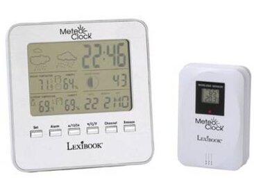 Lexibook Station météo Lexibook MeteoClock Silver