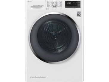 LG Sèche linge pompe à chaleur LG RH9052WH