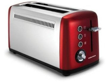 Morphy Richards Grille-pain Morphy Richards Accents 2 longues tranches Rouge