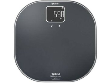 Tefal Pèse personne connecté Tefal Body partner access Grey