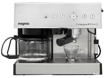 Magimix Expresso combiné cafetière Magimix 11423 AUTO CHROME MAT