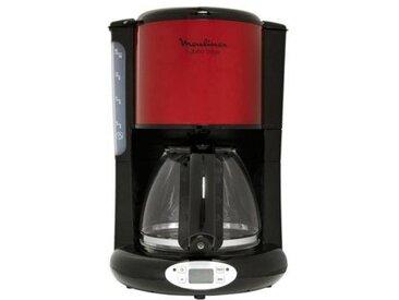 Moulinex Cafetière programmable Moulinex FG362D10 inox rouge