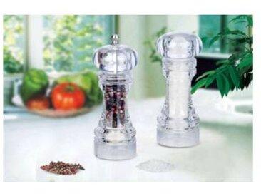Essentielb Moulin à poivre et sel Essentielb acrylique Manuel - sel ou poivre 16cm