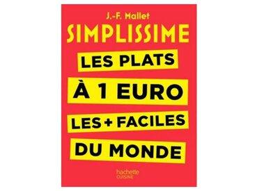 Hachette Livre de cuisine Hachette Simplissime les plats à 1 euro