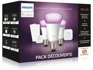 Philips Pack Philips E27 White & Colors +détecteur+variateurs