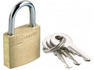 Go Travel Accessoire Go Travel Cadenas en laiton
