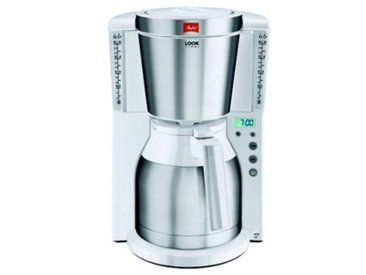 Melitta Cafetière isotherme Melitta LOOK IV THERM TIMER BLANC/INOX