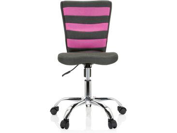 KIDDY COMFORT I - Chaise pivotante pour des enfants Gris / Rose