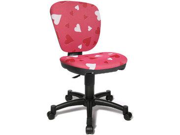 MAXX KID - Chaise pivotante pour des enfants Rose tissu