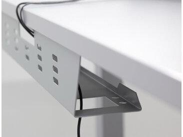 KW 18 S | Goulotte horizontale pour câbles - Argent 180 cm