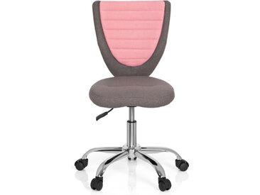 KIDDY COMFORT - Chaise pivotante pour des enfants Gris / Rose