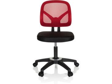 KID YU 100 - Chaise pivotante pour des enfants Noir / Rouge